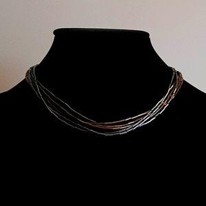 🍒Brown Necklace 6 strands
